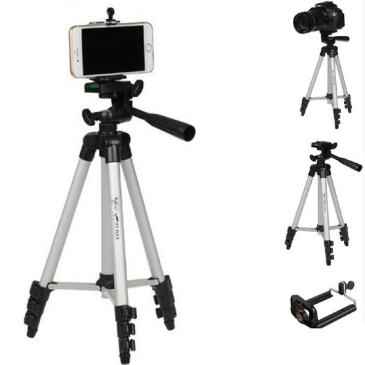 Giá Đỡ 3 Chân Tripod 3110 dùngcho máy ảnh, Smartphone...